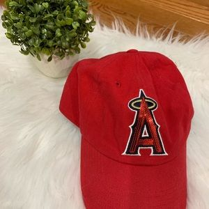 PINK Victoria's Secret Los Angeles A's hat